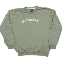 HUMBLE HUM★BLE Crewneck artichoke green