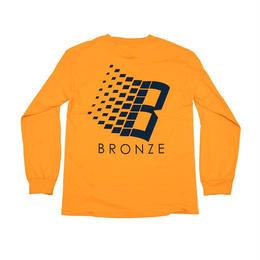 BRONZE56K B LOGO L/S TEE GOLD