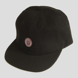 "PASS~PORT ""BARREL"" COTTON TWILL SNAP BACK BLK"