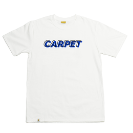 CARPETCOMPANY MISPRINT TEE WHT