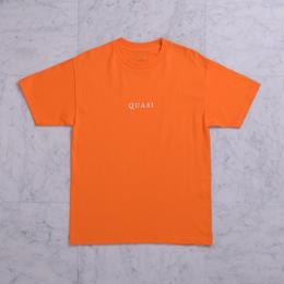 QUASI SKATEBOARDS Logos TEE - Orange