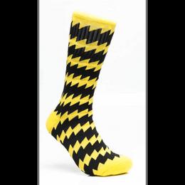 CSC X CHRYSTIE Socks Black/Yellow