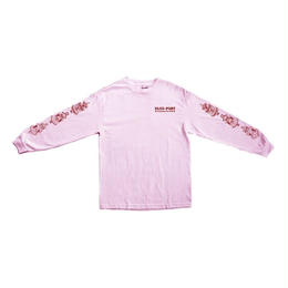 PASS~PORT - FOUNTAINS FOR LIFE L/S TEE -PINK