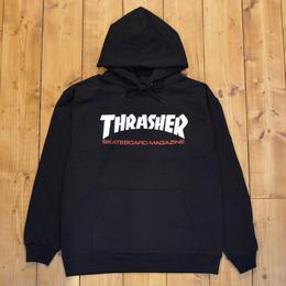 THRASHER Two-Tone Skate Mag Hood - Black