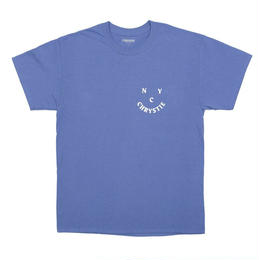 CHRYSTIE NYC CHRYSTIE.FACE LOGO T-SHIRTS / LAVENDER