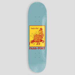 "PASS~PORT ""LADY IN RED"" POZTER SERIES DECK '8"