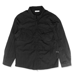 POP  FALLING DOWN OVERSHIRT BLACK