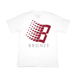 BRONZE56K B LOGO TEE WHITE