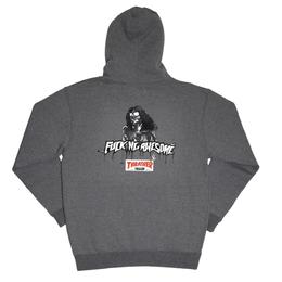 FUCKING AWESOME x THRASHER Trash Me Hoodie - Grey