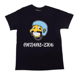 CALL ME 917 Bowl Troll Tee Black