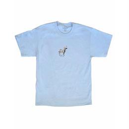 LURKNYC ZEBRA T-SHIRT POWDER BLUE