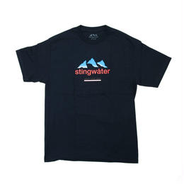 STING WATER FRENCH ALPS NAVY TEE