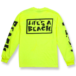 LIFE'S A BEACH LAB All Sleeve Fluro