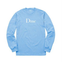 DIME CLASSIC LONG SLEEVE T-SHIRT BLUE