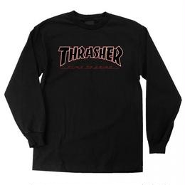Indy X Thrasher Time To Grind Long Sleeve T-Shirt  Black