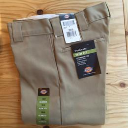 Dickies Slim Fit 873 Work Pants - Khaki