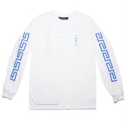 CALL ME 917 Coffee Long Sleeve T-Shirt White