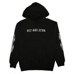 CALL ME 917 Chopper Pullover Hood Black