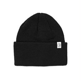POLAR SKATE CO. MERINO WOOL BEANIE (BLACK)