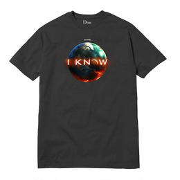 DIME I KNOW T-SHIRT Off-Black