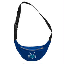 POLAR SKATE CO. DOODLE HIP BAG Royal