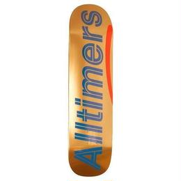 ALLTIMERS SHINY ORANGES LOGO BOARD 8.3""