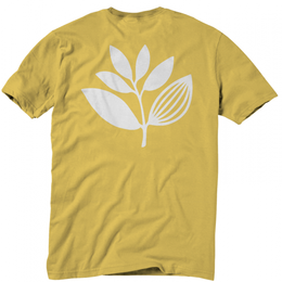 MAGENTA SKATEBOARDS PLANT TEE Yellow