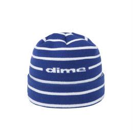 DIME STRIPED BEANIE Blue