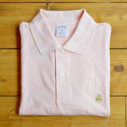 BROOKS BROTHERS S/S POLO SHIRT - PINK