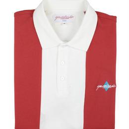 YARDSALE RED/WHITE QUARTZ POLO
