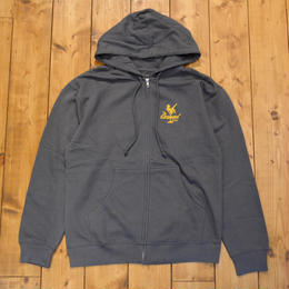 Theories Zip-Hoody Charcoal Grey