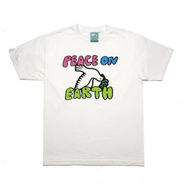 GOOD THINKING PEACE ON EARTH TEE White