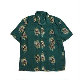 Hellrazor Golden Horse S/S Shirt - Deep Green