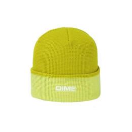 DIME 2 TONE WAFFLE BEANIE Yellow