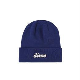 DIME CURSIVE BEANIE Blue