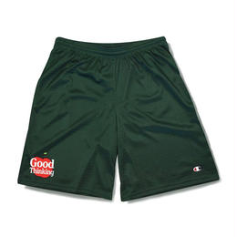 GOOD THINKING  CRAPPLE SHORTS Hunter green