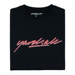 YARDSALE Black Script T-shirt