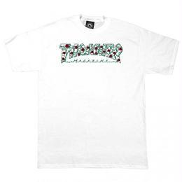 THRASHER Roses T-Shirt  White