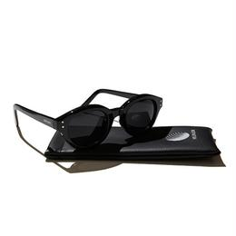 Hellrazor Monk Sunglasses - Black/Smoke