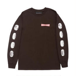 CALL ME 917 91 Stone Long Sleeve T-Shirt Brown