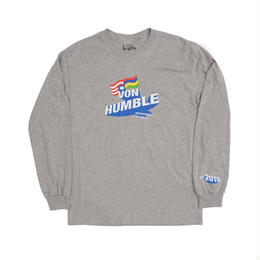 HUMBLE Von Humble longsleeve tee athletic grey