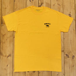 PROV CAMEL T-SHIRT - YELLOW
