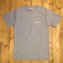 PROV OFFICIAL S/S TEE GRAY