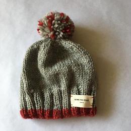 ニット帽子 レッドライン (18-11407)