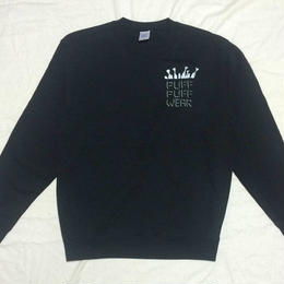ノーポケ CREW NECK SWEAT (BLACK)