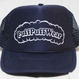 Puff Puff MESH CAP (NAVY/WHITE)