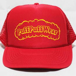 Puff Puff MESH CAP (RED/YELLOW)