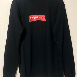 ROLLING PAPER LONG SLEEVE TEE(BLACK)