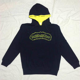 Puff Puff Two-tone HOOD PARKA (NAVY/YELLOW)
