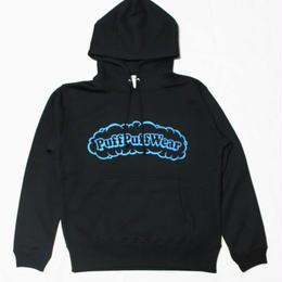 【裏起毛】Puff Puff  HOOD PARKA (BLACK/BLUE)